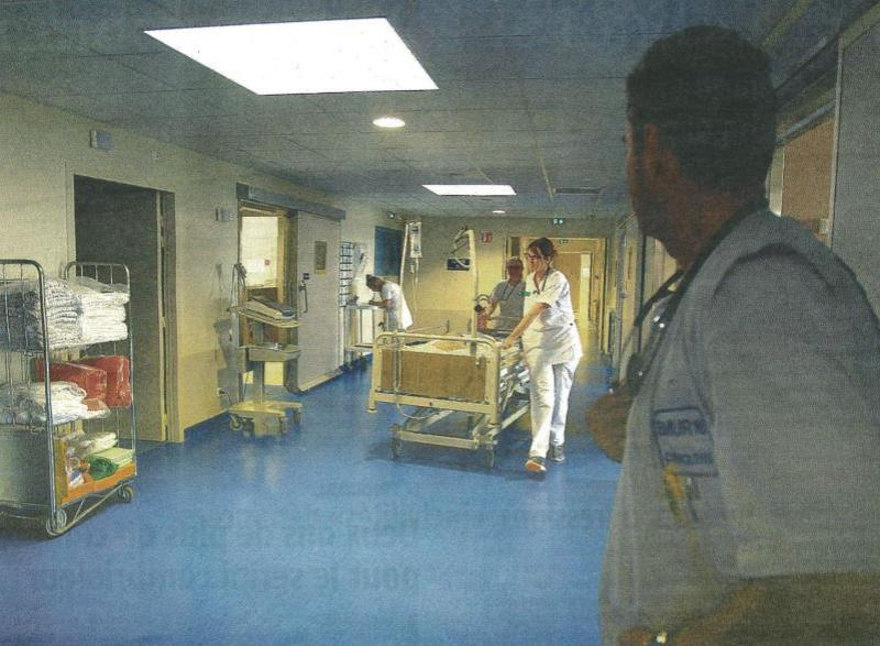 Centre hospitalier de confolens for Interieur hopital